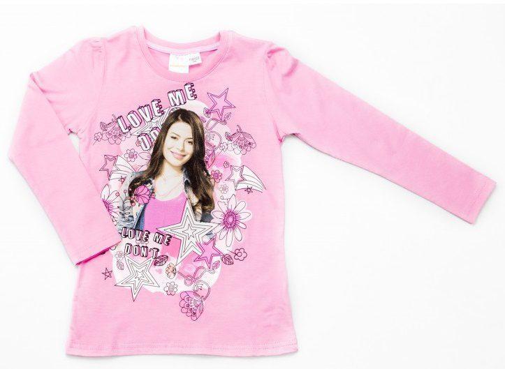 Bluza fete Carla roz, marimi 6-11 ani