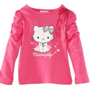Bluza CharmmyKitty Dance roz, marimi 3-8 ani