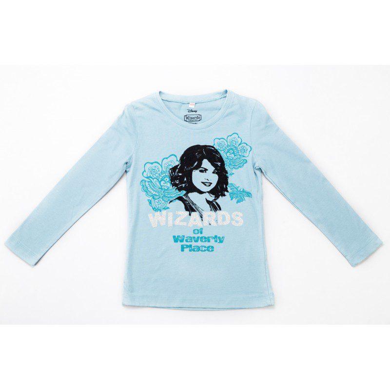 Bluza fete Wizard turcoaz, marimi 6,12 ani