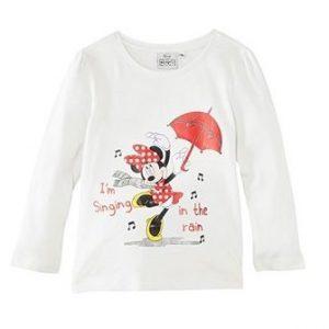 Bluza Minnie alb, marimi 3,6 ani