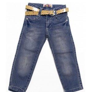Jeans fete fluturas, marimi 1-10 ani
