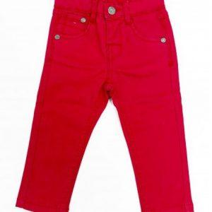 Pantaloni Losan rosu, marimi 2-7 ani