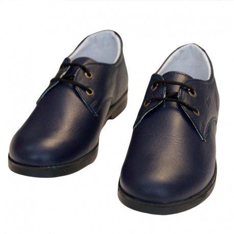 Pantofi baieti Tino bleumarin, marimi 30-35