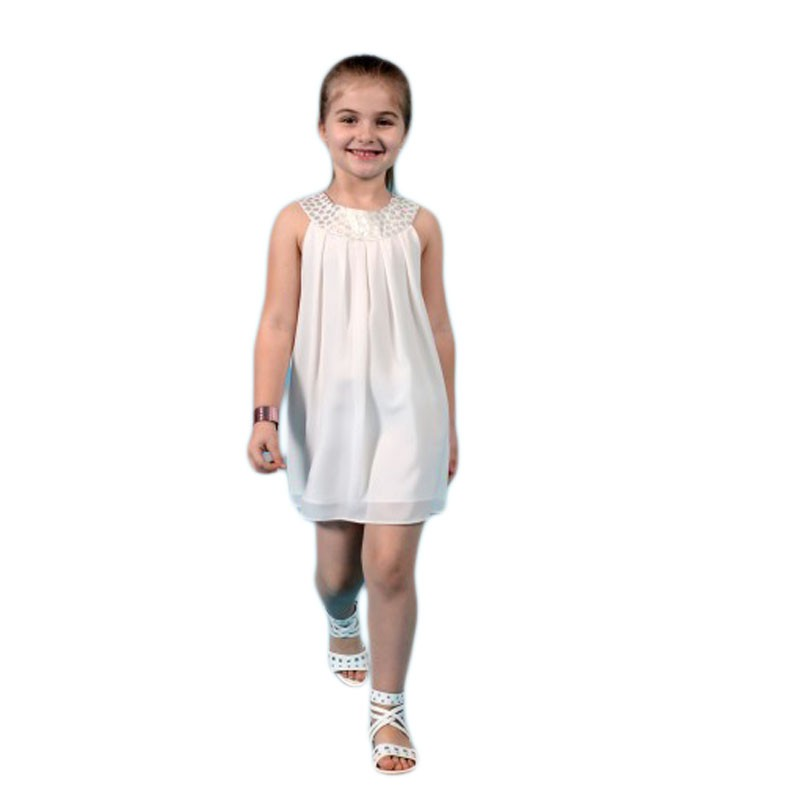 Rochie din voal ivory, marime 5 ani
