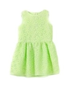 Rochie fete dantela LOSAN/verde, marimi 2-7 ani