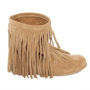 Cizmulite fete vara Hippie pj shoes bej, marime 31