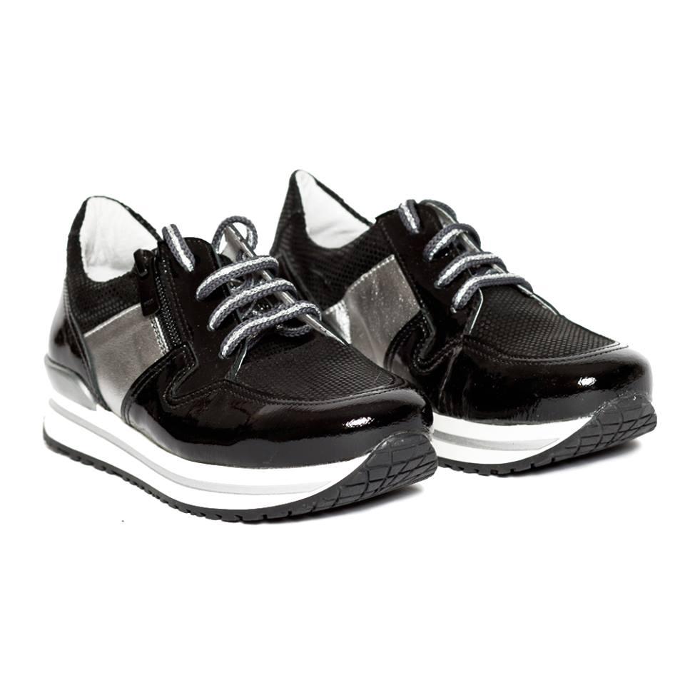 Pantofi copii piele naturala LIKE pj shoes  33