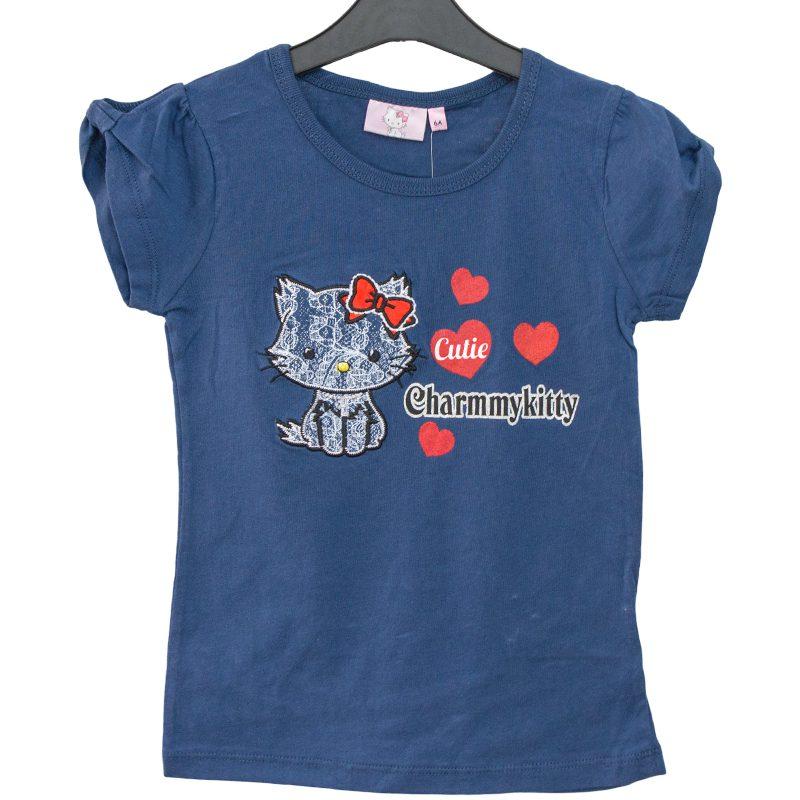 Tricou fete Charmmy Kitty bleumarin