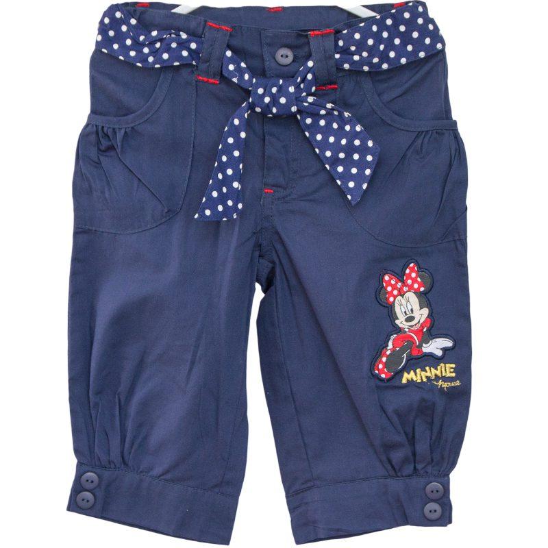 Pantaloni scurti copii Minnie bleumarin, marime 4 ani