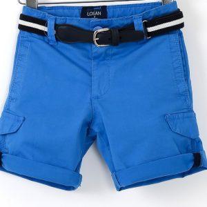 Pantaloni scurti copii Losan albastru 2-7 ani