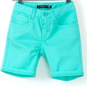 Pantaloni scurti copii Losan verde turcoaz 2-6 ani