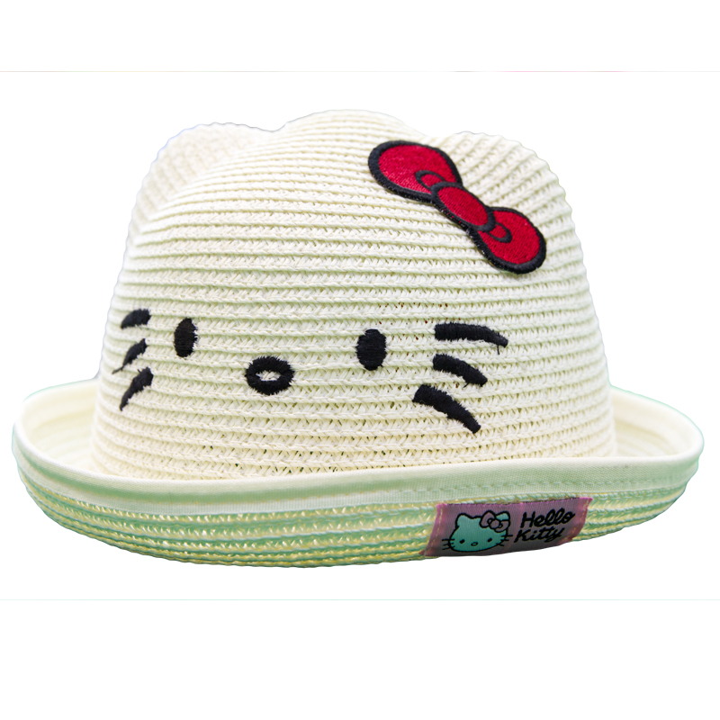 Palarie copii Hello Kitty crem
