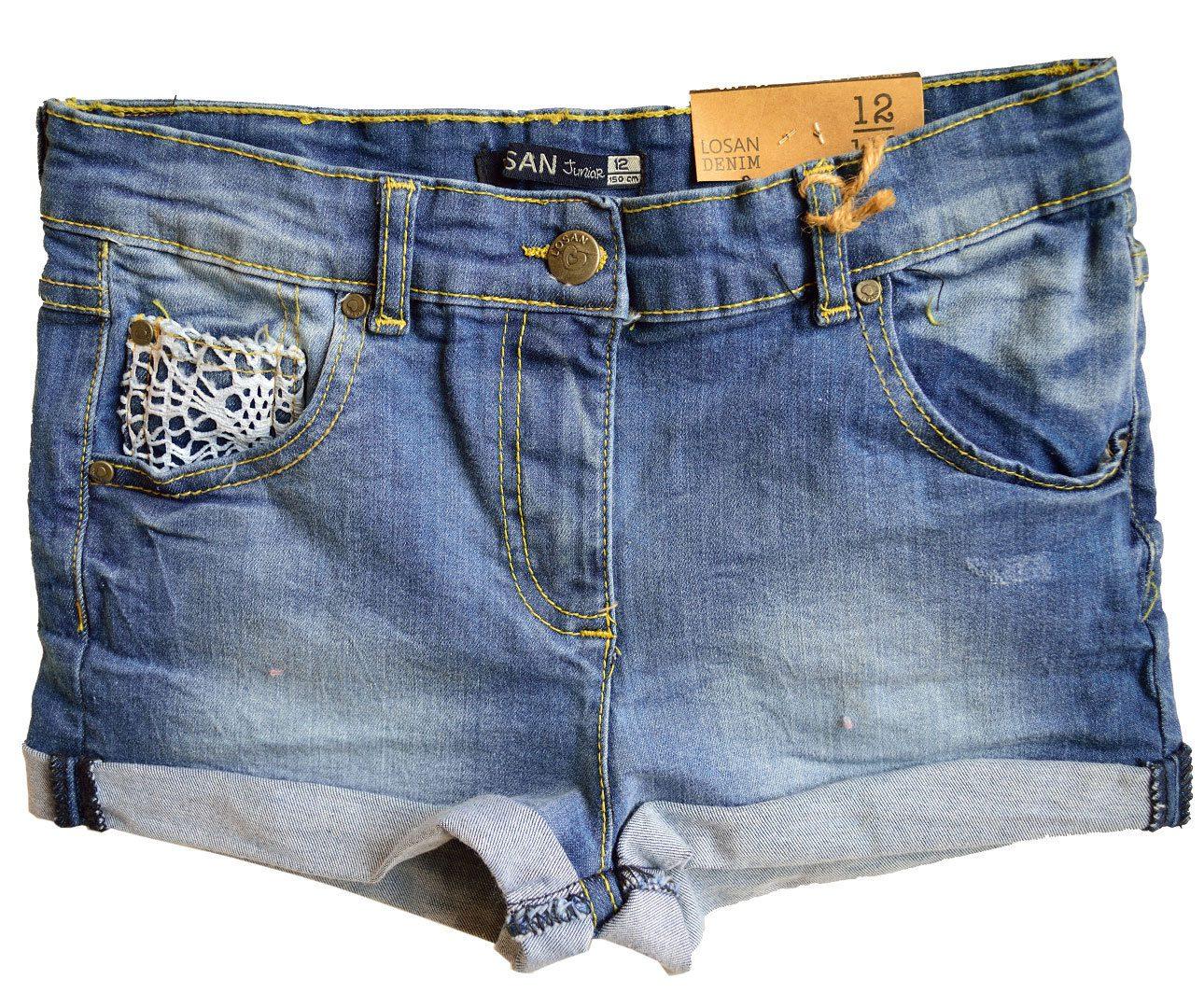 Pantaloni scurti fete denim Losan 10-16 ani