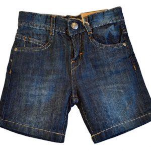 Pantaloni scurti baieti denim 2-7 ani