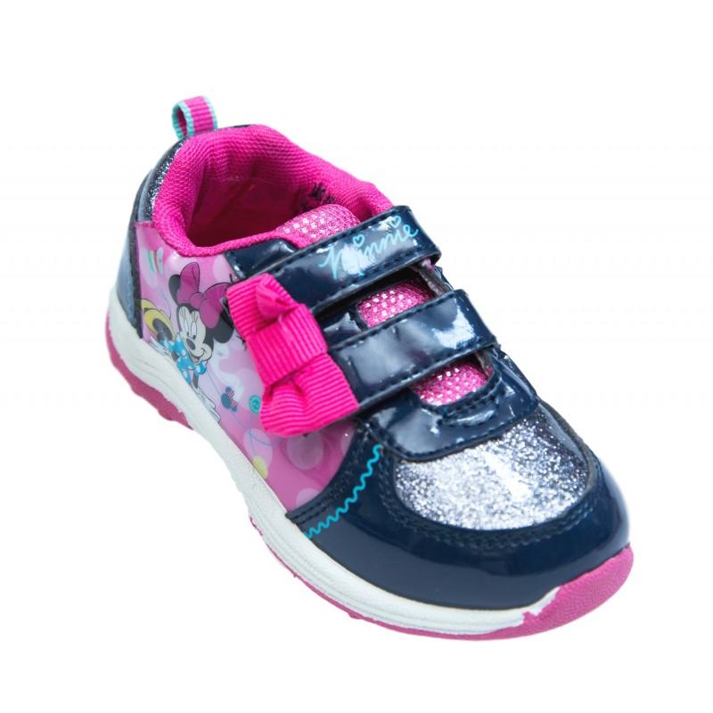 Adidasi fete Minnie Mouse roz bleumarin 27