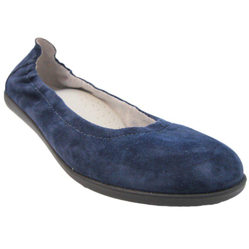 Balerini fete piele AMMA blu
