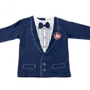 Bluza copii Mickey bleumarin , marimi 6-23 luni
