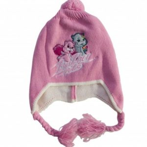 Caciulita ZuZu Pets, roz/crem/gri