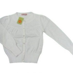 Jacheta fete Meda alb, marimi 2,4 ani