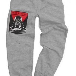 Pantaloni StarWars gri, marimi 5-9 ani