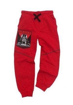 Pantaloni copii StarWars rosu, marimi 6-9