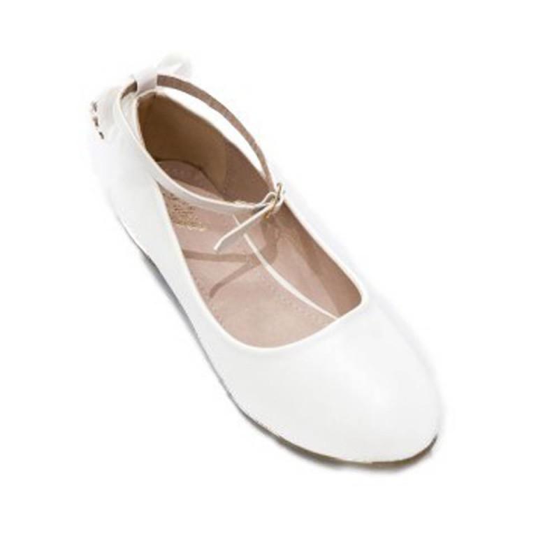 Pantofi albi fete, marimi 36-39