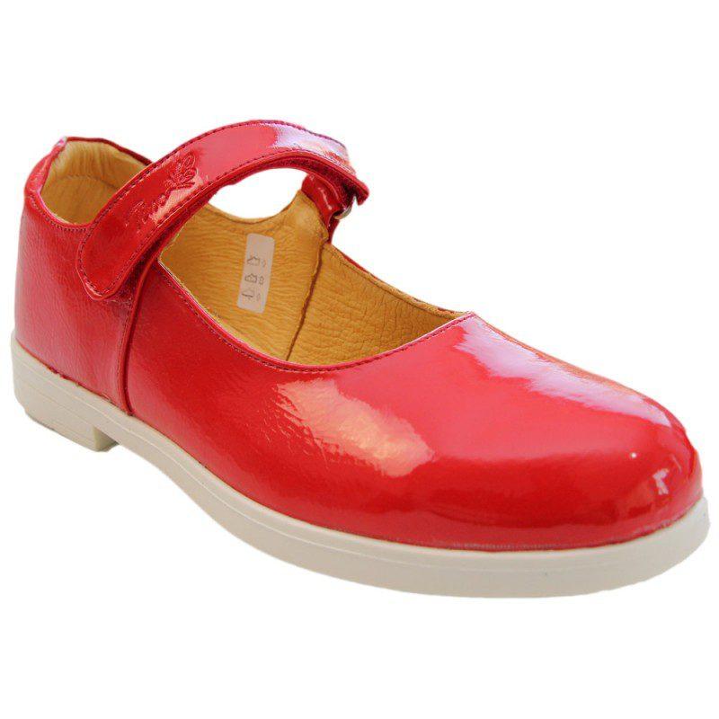 Pantofi fete lac rosu, marimi 30-35