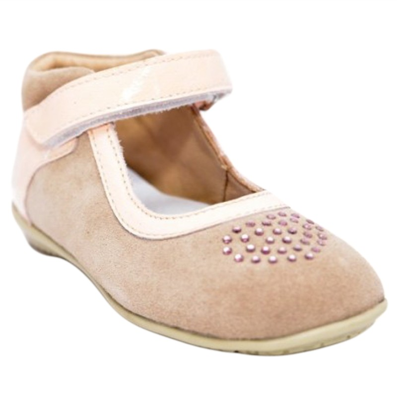 Pantofi fete piele inimioara, marimea 21