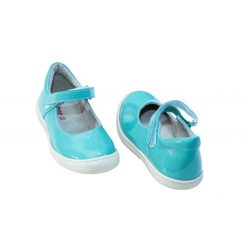 Pantofi fete turcoaz, marimea 35