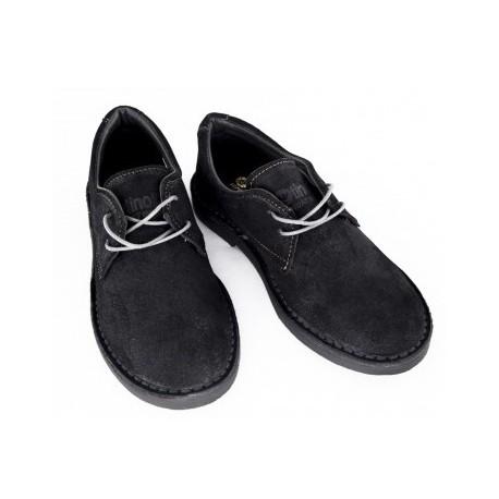 Pantofi piele gri 853 marimi 33,34