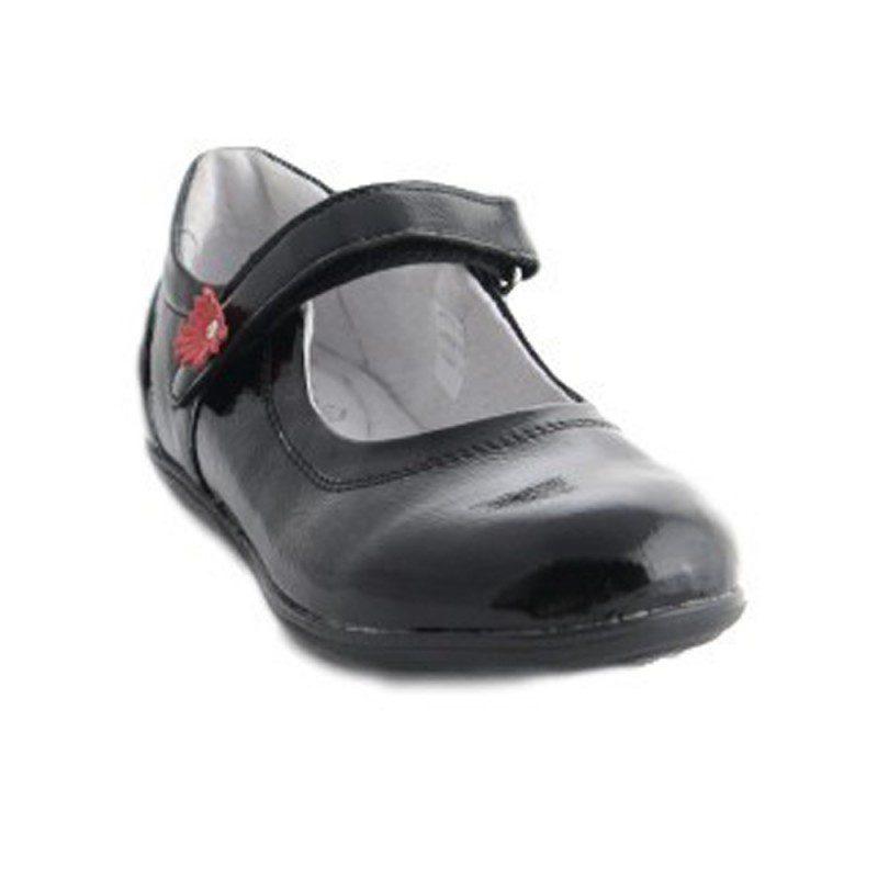 Pantofi piele negru/lac 2072, marimi 24-35
