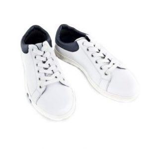 Pantofi piele Rebel alb, marimi 36-39