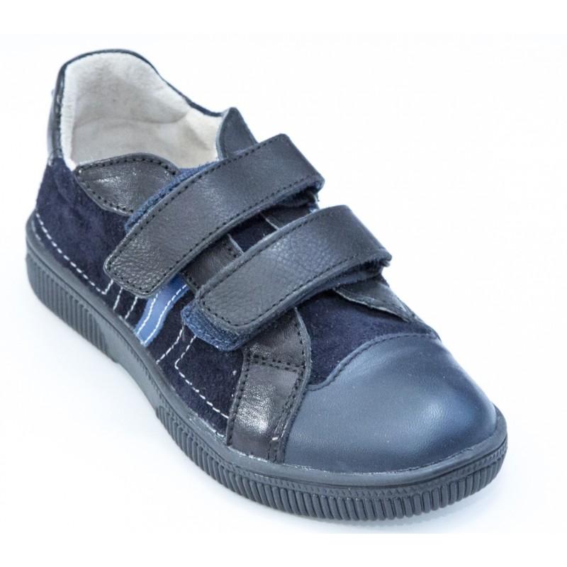 Pantofi sport copii piele blu