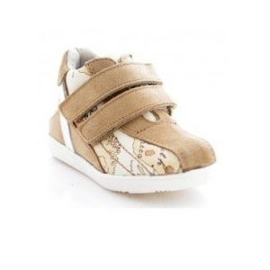 Pantofi sport copii din piele naturala 1402 bej