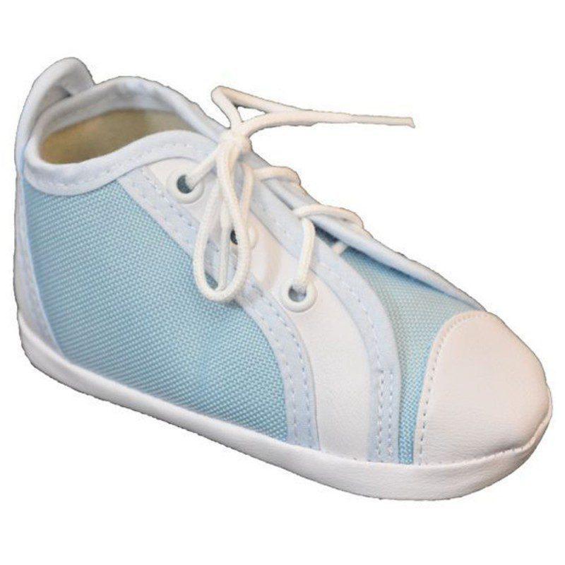 Pantofiori baieti bleo cu siret