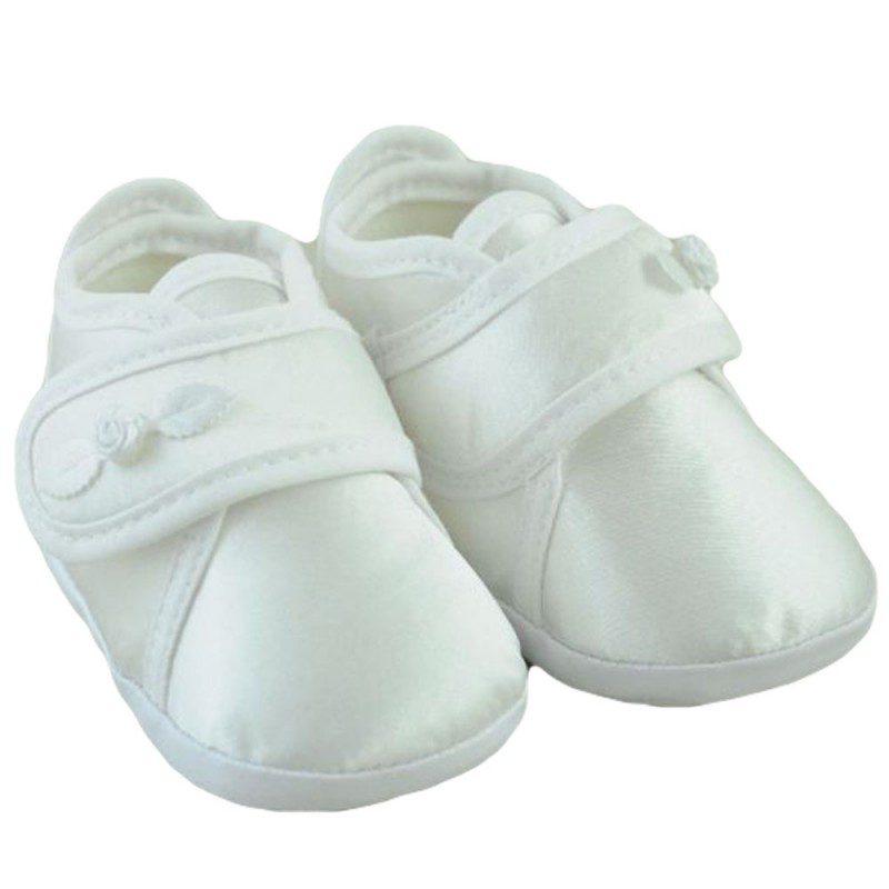 Pantofiori copii trandafir alb/ivory
