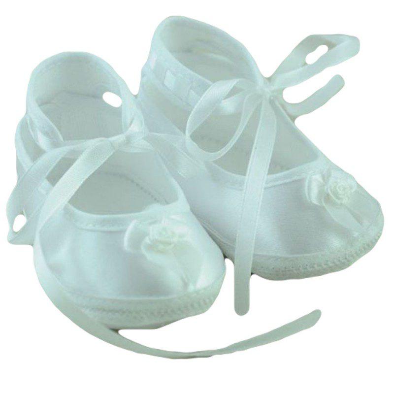 Pantofiori fetite fundita alb