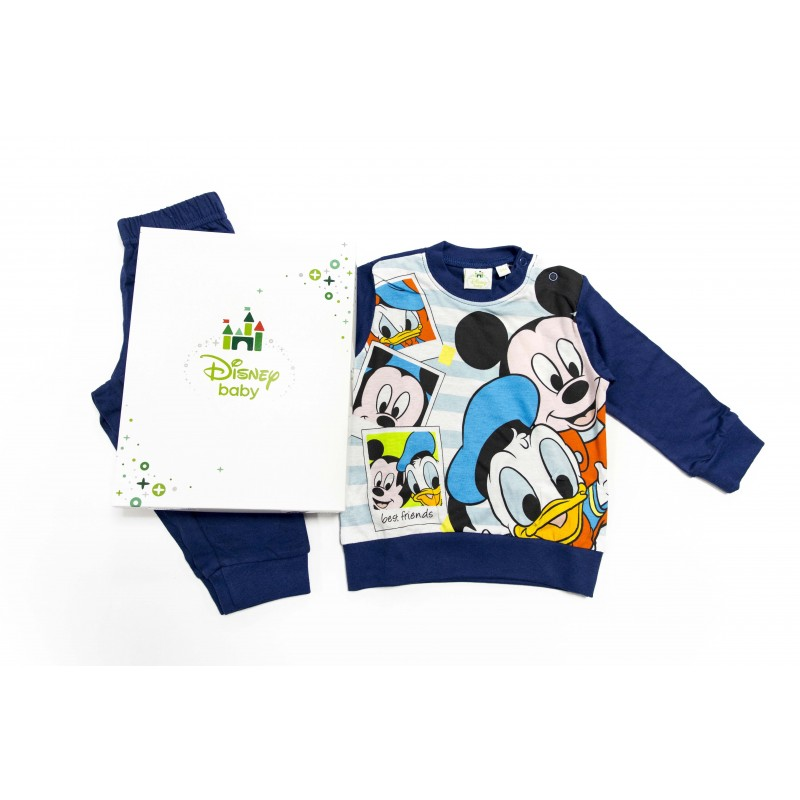 Pijamale baieti  Mickey 12-30 luni