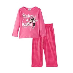 Pijamale minnie roz, marimi 4-8 ani