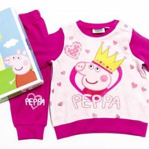 Pijamale fetite PEPPA 12-30 luni