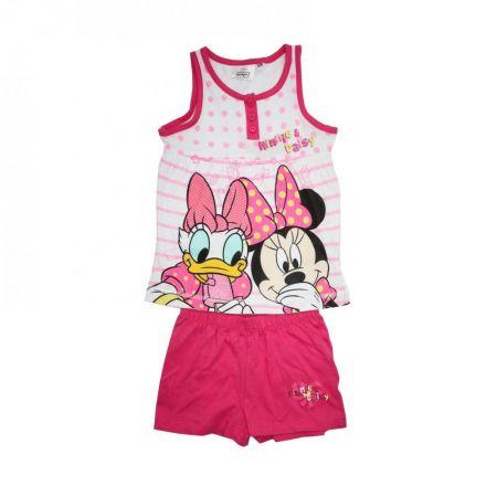 Set tricou si pantaloni scurti Minnie si Daisy