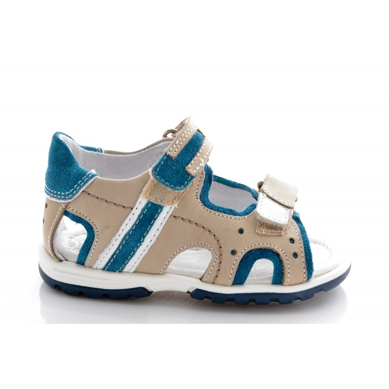 alta sansa pantofi ieftin vânzare la preț mic Sandale copii bej blu, marimea 24 - Haine si incaltaminte copii si ...