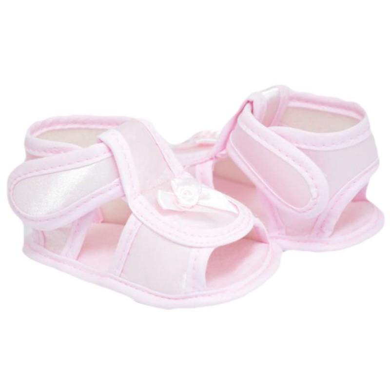 Sandalute bebelusi fetite roz
