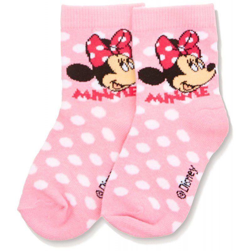 Sosete fete Minnie roz