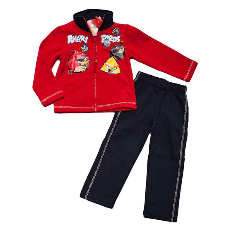 Trening copii Angry Birds rosu negru, marime 4 ani