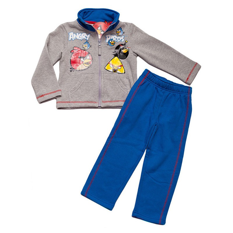 Trening copii Angry Birds gri/albastru, marime 4 ani