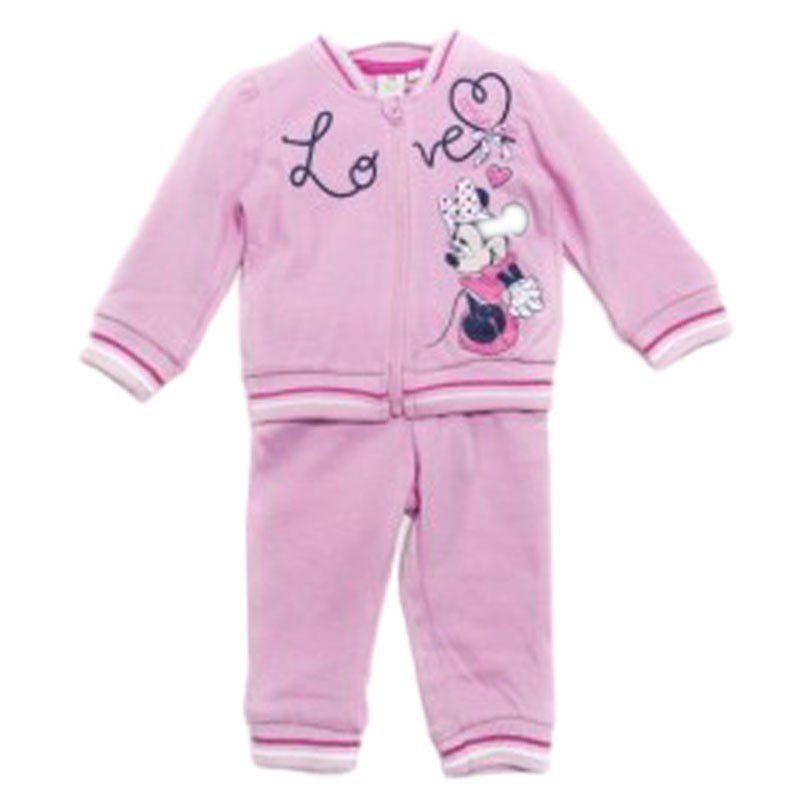 Trening fete roz MINNIE, marimi 6-24 luni