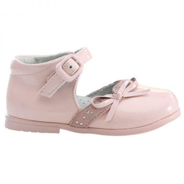 Pantofi copii piele roz 19-24