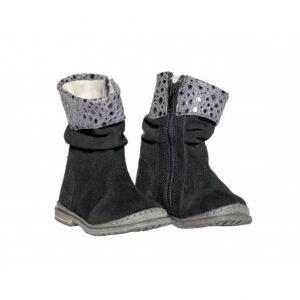 Cizme fetite Lilly negru Pj shoes 20-25