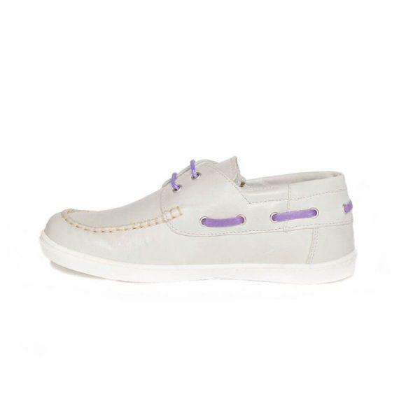 Mocasini copii piele Jose argintiu Pj Shoes 27-36